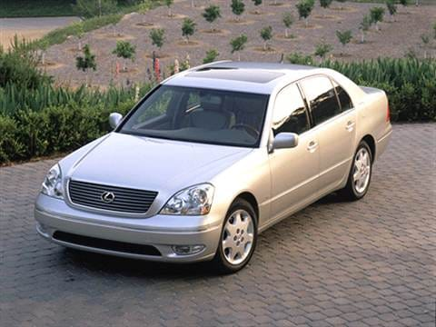2002 Lexus LS LS 430 Sedan 4D  photo