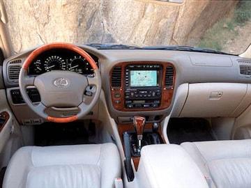 2002 Lexus Lx Interior