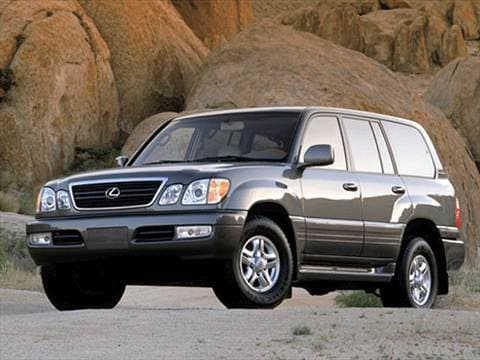 2002 Lexus LX LX 470 Sport Utility 4D  photo