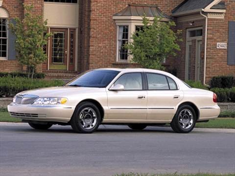 2002 Lincoln Continental | Pricing, Ratings & Reviews | Kelley Blue