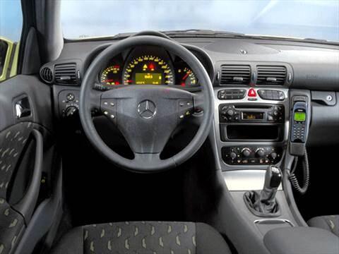 ... 2002 Mercedes Benz C Class Interior