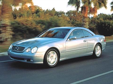 2002 Mercedes-Benz CL-Class CL500 Coupe 2D  photo