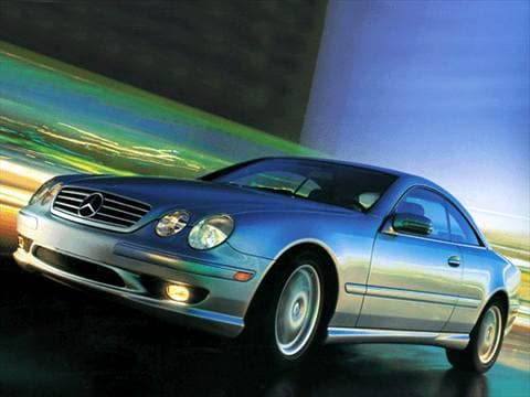 2002 mercedes benz cl class pricing ratings reviews for Mercedes benz blue book value