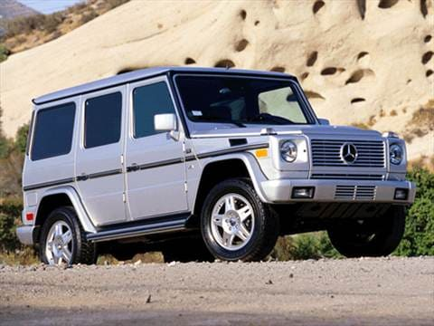2002 Mercedes-Benz G-Class G500 Sport Utility 4D  photo
