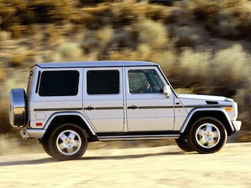 2002 mercedes benz g class pricing ratings reviews for Mercedes benz blue book value