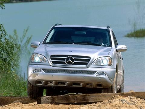 2002 Mercedes-Benz M-Class ML320 Sport Utility 4D  photo