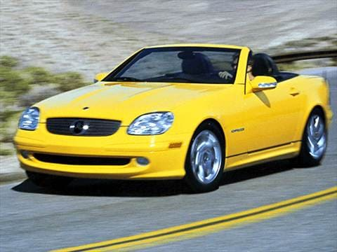 2002 Mercedes-Benz SLK-Class SLK230 Roadster 2D  photo