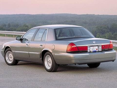 2002 mercury grand marquis Exterior