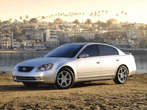 2002 Nissan Altima 2.5 Sedan 4D  photo