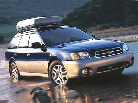 2002 Subaru Outback Wagon 4D  photo