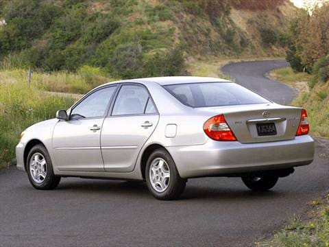 2002 toyota camry le sedan 4d pictures and videos kelley blue book. Black Bedroom Furniture Sets. Home Design Ideas