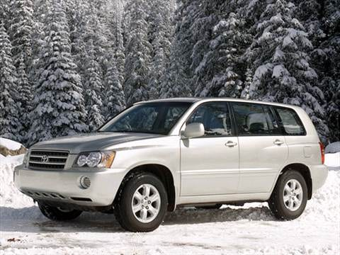 2002 Toyota Highlander Sport Utility 4D  photo