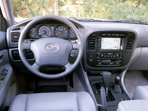2002 toyota land cruiser Interior