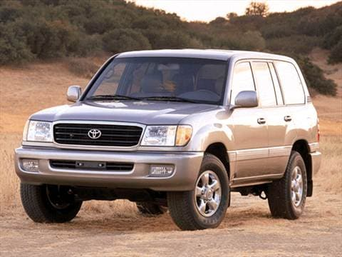 2002 Toyota Land Cruiser. 13 MPG Combined