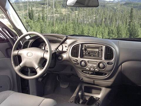 2002 toyota sequoia Interior