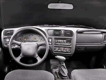 2003 Chevrolet Blazer Interior