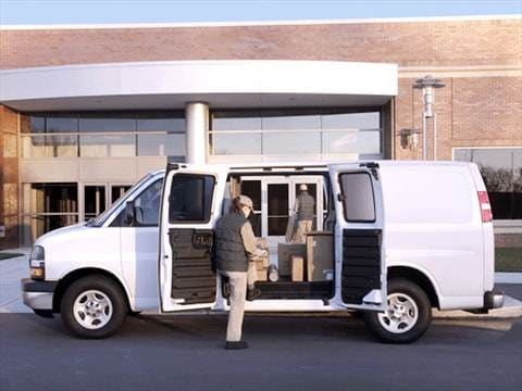 2003 Chevrolet Express 3500 Cargo Extended Van 3D  photo
