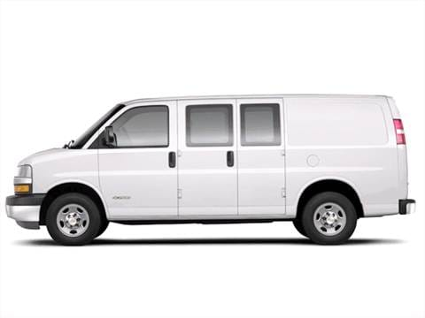2003 Chevrolet Express 3500 Passenger LS Extended Van 3D  photo