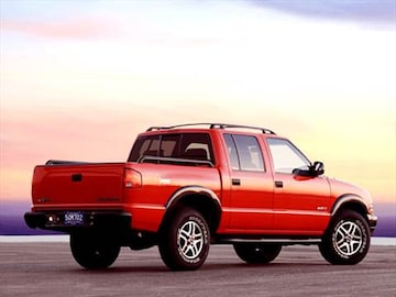 2003 chevrolet s10 crew cab pricing ratings reviews kelley blue book. Black Bedroom Furniture Sets. Home Design Ideas