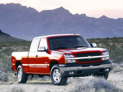 2003 Chevrolet Silverado 1500 Extended Cab Pricing Ratings