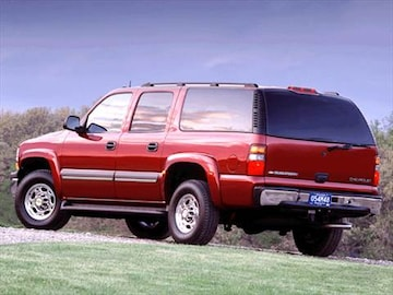 1995 chevrolet suburban 2500 specs