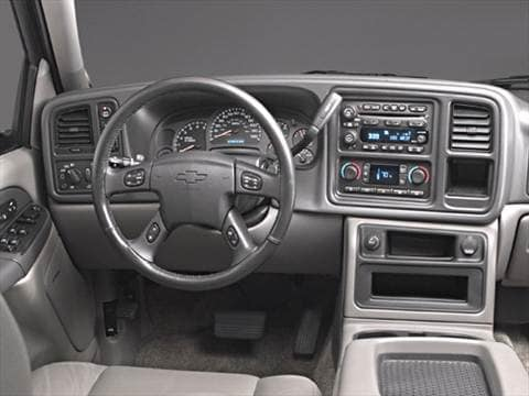2003 chevrolet tahoe Interior