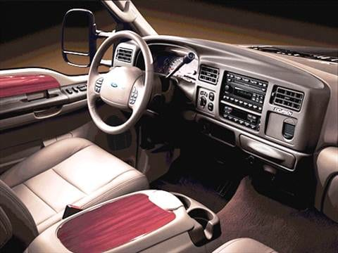 2003 ford excursion Interior