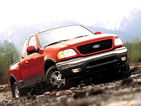2003 Ford F150 Super Cab Pricing Ratings Reviews Kelley Blue Book