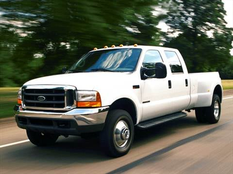 2003 Ford F350 Super Duty Crew Cab XL Pickup 4D 6 3/4 ft  photo