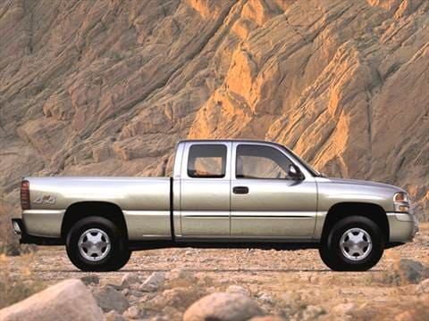 2003 gmc sierra 1500 extended cab Exterior