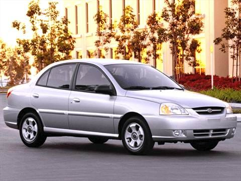2003 Kia Rio Sedan 4D  photo