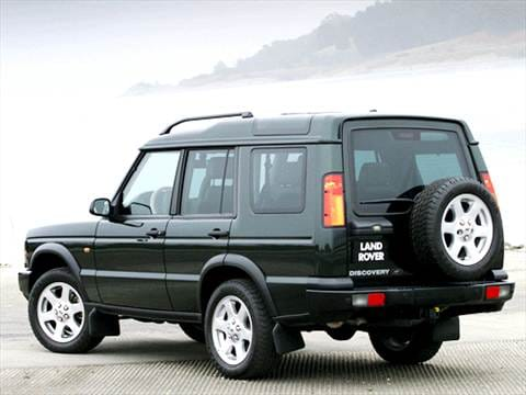2003 land rover discovery Exterior