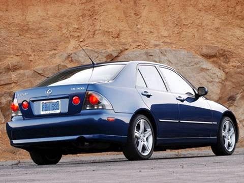 2003 lexus is Exterior