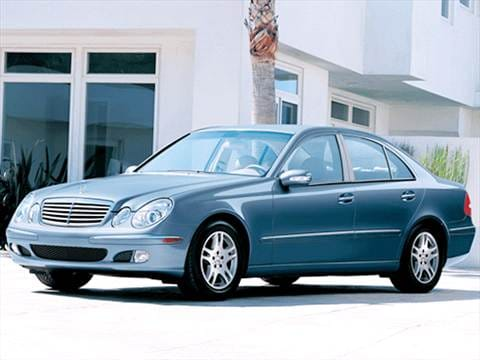 2003 Mercedes-Benz E-Class E 320 Sedan 4D  photo