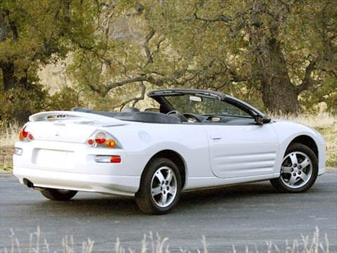 2003 mitsubishi eclipse gs spyder convertible 2d pictures and videos kelley blue book. Black Bedroom Furniture Sets. Home Design Ideas