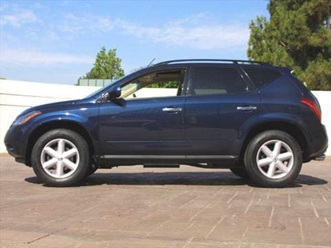 2003 nissan murano sl sport utility 4d pictures and videos kelley blue book. Black Bedroom Furniture Sets. Home Design Ideas