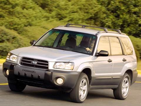 2003 subaru forester value