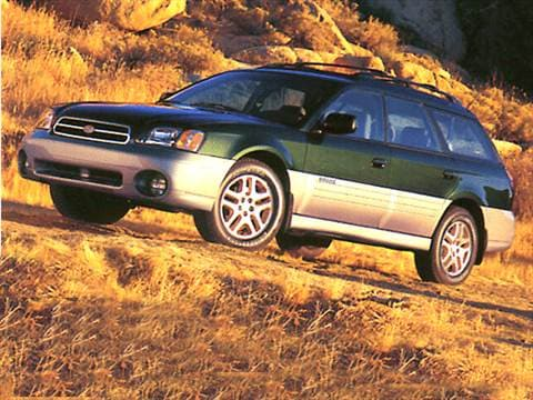2003 Subaru Outback Limited Wagon 4D  photo