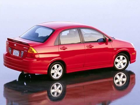2003 Suzuki Aerio Pricing Ratings Reviews Kelley Blue Book
