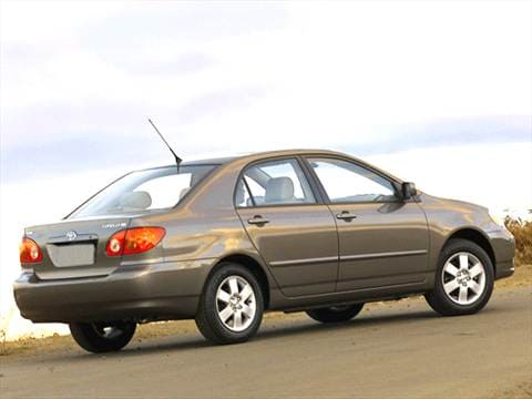 2003 Toyota Corolla CE Sedan 4D Pictures And Videos