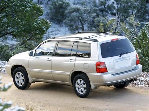 toyota highlander 2003 limited