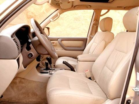 2003 Toyota Land Cruiser Interior ...