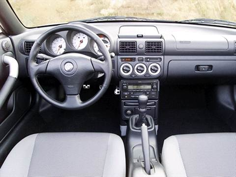 2003 toyota mr2 Interior