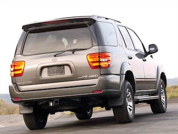 2003 Toyota Sequoia Pricing Ratings Reviews Kelley Blue Book