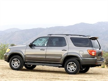 2003 toyota sequoia pricing ratings reviews kelley blue book. Black Bedroom Furniture Sets. Home Design Ideas