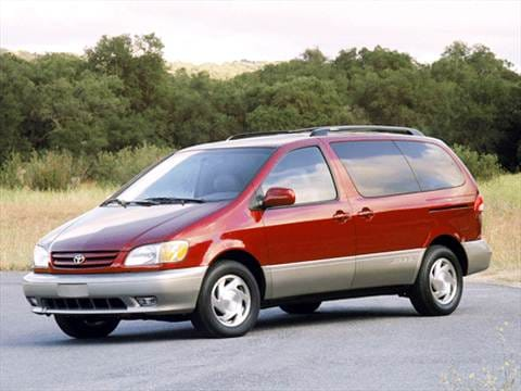2003 Toyota Sienna XLE Minivan 4D  photo