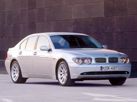 2004 Bmw 7 Series Pricing Ratings Reviews Kelley Blue Book