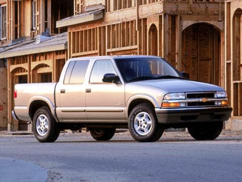 chevrolet s10 crew cab pricing ratings reviews kelley blue book. Black Bedroom Furniture Sets. Home Design Ideas