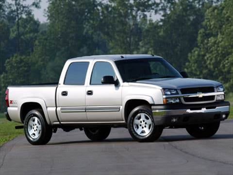 2004 Chevrolet Silverado 1500 Crew Cab LS Pickup 4D 5 3/4 ft  photo