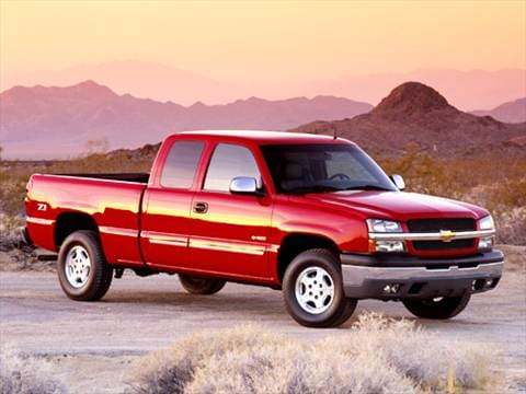 2004 Chevrolet Silverado 1500 Extended Cab Z71 Pickup 4D 6 1/2 ft  photo